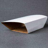 Southern Champion 70500 Clay Coated Kraft Food Tray Sleeves for 5 lb. Food Trays - 250/Case