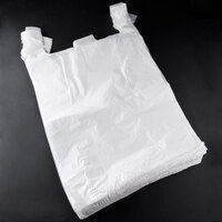 Large White T-Shirt Bag 450/Case