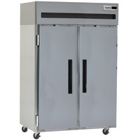 Delfield 6151XL-S 51 inch Two Section Solid Door Reach in Freezer - 43.5 cu. ft.