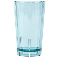Cambro HT16CW196 Azure Blue Camwear Huntington 16 oz. Customizable Plastic Tumbler - 36 / Case