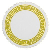 Royal Paper RBC171 Greek Key Design Budget Coaster - 2500/Box