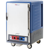 Metro C535-MFS-4-BU C5 3 Series Heated Holding and Proofing Cabinet with Solid Door - Blue