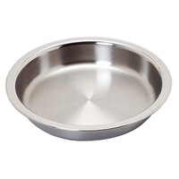 Vollrath 49333 Replacement Stainless Steel Food Pan for 4.2 Qt. Panacea and Maximillian Steel Chafers