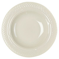 Homer Laughlin 7000-356 Gothic 11.25 oz. American White (Ivory / Eggshell) China Soup Bowl - 24/Case