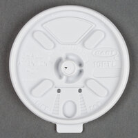 Dart Solo 10FTL 10 White Lift'n'Lock Lid - 100/Pack