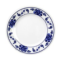 Lotus 6 inch Round Melamine Plate - 12 / Pack