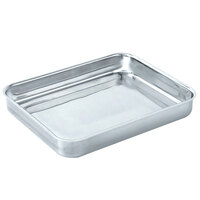 Vollrath Miramar Display Cookware 49432 4.6 Qt. Large Food Pan - 14 11/16 inch x 11 13/16 inch x 2 inch