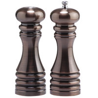 Chef Specialties 90070 7 inch Burnished Copper Pepper Mill / Salt Shaker