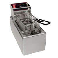 Grindmaster 08050 9 1/2 inch x 5 1/8 inch x 3 1/2 inch Full Size Fryer Basket with Front Hook