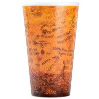 Dart 20U16ESC 20 oz. Fusion Customizable Foam Hot Cup - 500/Case