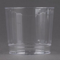 WNA Comet CCR9240 Classicware 9 oz. Rocks Clear Plastic Fluted Tumbler - 20 / Pack