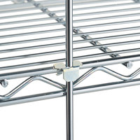 Metro R72S 72 inch Stainless Steel Wire Shelving Rod