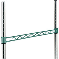 Metro H124-DHG Hunter Green Hanger Rail 24 inch
