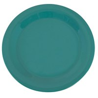 Carlisle 3300209 10 1/2 inch Meadow Green Sierrus Narrow Rim Dinner Plate - 12 / Case