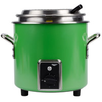 Vollrath 7217235 Green Apple Finish Retro 11 qt. Stock Pot Kettle Rethermalizer - 1450W