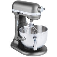 KitchenAid KP26M1XPM Pearl Metallic Professional 600 Series 6 Qt. Countertop Mixer