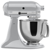 KitchenAid KSM150PSMC Metallic Chrome Artisan Series 5 Qt. Countertop Mixer