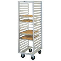 Metro RF13N Mobile Roll-In Refrigerator End Load Bun Pan Rack - 36 Pan