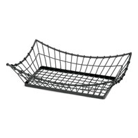 Tablecraft GM2113 Grand Master Rectangular Metal Basket - 21 inch x 13 inchx 5 1/2 inch