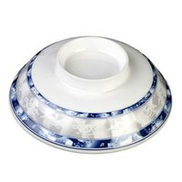 Blue Dragon 5 1/4 inch Melamine Lid for Noodle Bowl - 12/Case