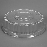 Sabert 5516 16 inch Clear Plastic Round High Dome Lid   - 36/Case