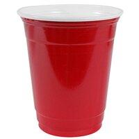 Dart Solo P16RLR-00011 Red 16 oz. Plastic Cup 1000 / Case