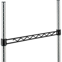 Metro H148B Black Hanger Rail 48 inch