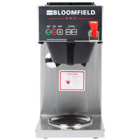 Bloomfield 1040D2F E.B.C. 2 Warmer In-Line Automatic Coffee Brewer - Touchpad Controls, 120V