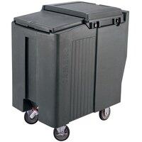 Cambro ICS175T180 Light Gray Sliding Lid Portable Ice Bin - 175 lb. Capacity Tall Model