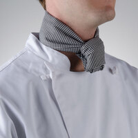 Chef Revival H500HT 38 inch x 28 inch Houndstooth Poly-Cotton Neckerchief