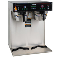 Bunn 37600.0002 ICB-TWIN Dual Infusion Series Stainless Steel Coffee Brewer - 120/208V