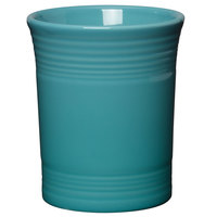 Homer Laughlin 447107 Fiesta Turquoise 6 5/8 inch Utensil Crock - 4/Case
