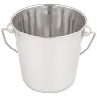 American Metalcraft SSP61 Mini Stainless Steel Pail - 6 1/4 inch x 5 3/4 inch
