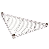 Regency 24 inch NSF Chrome Triangle Shelf