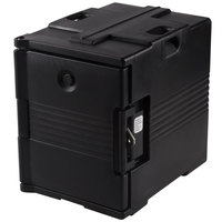 Cambro Camcarrier UPC400SP110 Black Pan Carrier with Security Package