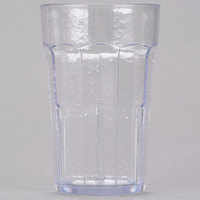 Cambro LT8152 8 oz. Clear Laguna Customizable Plastic Tumbler - 36 / Case