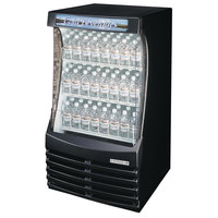 Beverage Air BZ13-1-B Black Breeze Open Display Case 30 inch - 13 Cu. Ft.