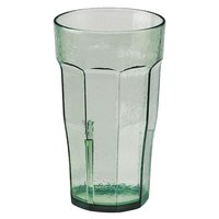 Cambro LT12427 Laguna 12 oz. Spanish Green Customizable Plastic Tumbler - 36/Case
