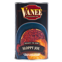 Vanee 156GZ Beef Sloppy Joe 50 oz. Can