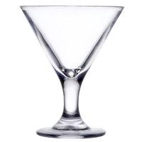 GET SW-1430 (SW1430) 3 oz. SAN Plastic Martini Glass