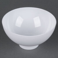 Fineline Tiny Temptations 6208-WH 2 oz. White Plastic Tiny Bowl - 200/Case
