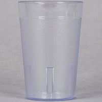 8 oz. Pebbled Plastic Tumbler 12/Pack - Clear