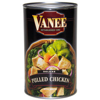 Vanee 456DC Deluxe Pulled Chicken - (6) 50 oz. Cans / Case
