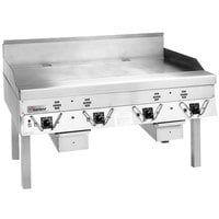 Garland ECG-72R 72 inch Master Electric Production Griddle - 240V, 1 Phase, 25.8 kW