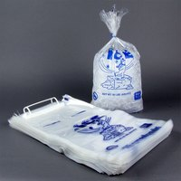 20 lb. Wicketed Ice Bag with Handle   - 500/Case