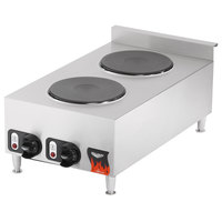 Vollrath 40739 2 Burner Counter Top Electric Hot Plate 220V