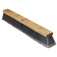 Carlisle 3621951823 18 inch Flagged Polypropylene Broom Head