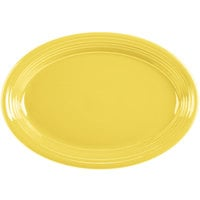 Homer Laughlin 458320 Fiesta Sunflower 13 5/8 inch Platter - 12/Case