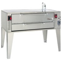 Garland GPD60 Natural Gas 75 inch Pyro Deck Pizza Oven - 122,000 BTU