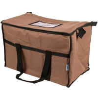 Choice Insulated Cooler Bag / Soft Cooler, Brown Nylon
